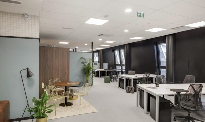 location CoWorking 50m²